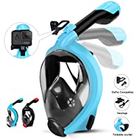 Deals on HENGBIRD Snorkel Mask with Detachable Camera Mount