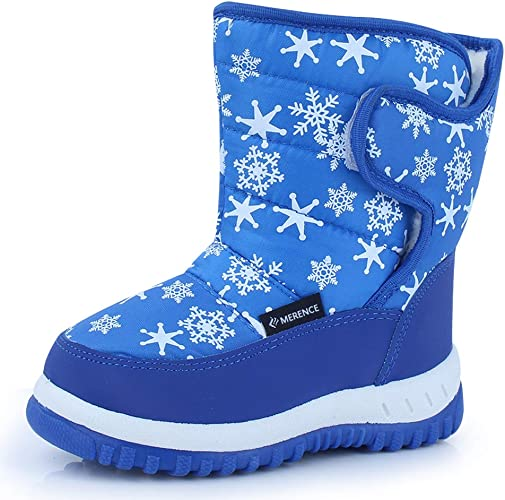 Snow Boots Toddler Girls Winter Warm Fur Rabbit Kids Boy Outdoor Shoes