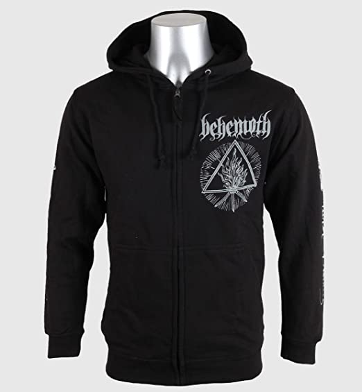behemoth furor divinus new official mens zipped hoodie all sizes:  Amazon.co.uk: Clothing
