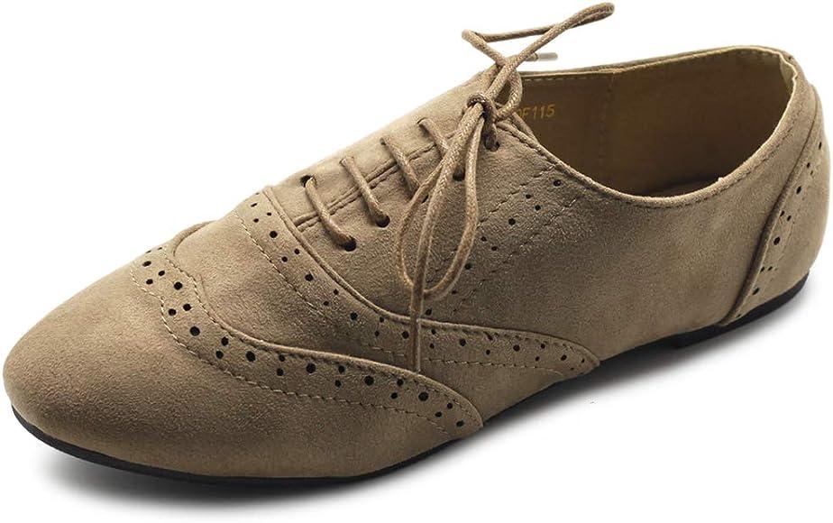 Ollio Women's Shoes Faux Suede Classic