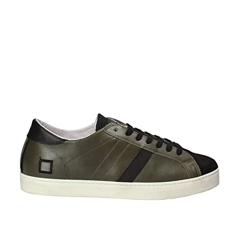 D.a.t.e. HILL LOW NAPPA Sneakers Uomo Verde 43