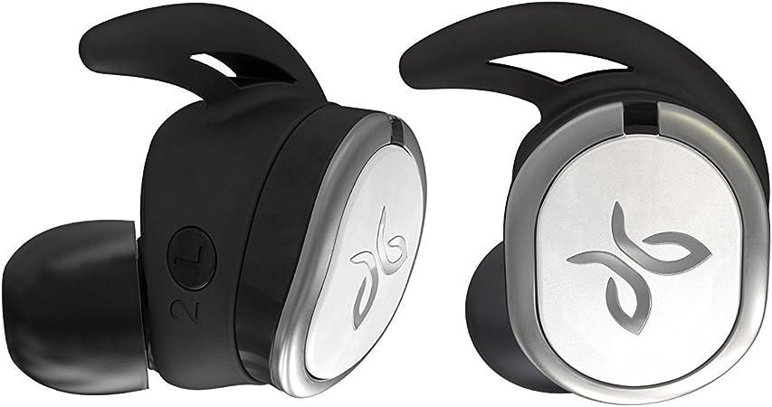 Jaybird Run Kabellose In Ear Kopfhörer Bluetooth Schweißbeständig Wasserdicht 12 Stunden Akkulaufzeit Sport Fit Smartphone Tablet Ios Android Drift Schwarz Weiß Audio Hifi