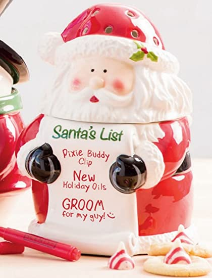 Scentsy Christmas Gifts.Santa S List Scentsy Warmer New Christmas 2016 Collection