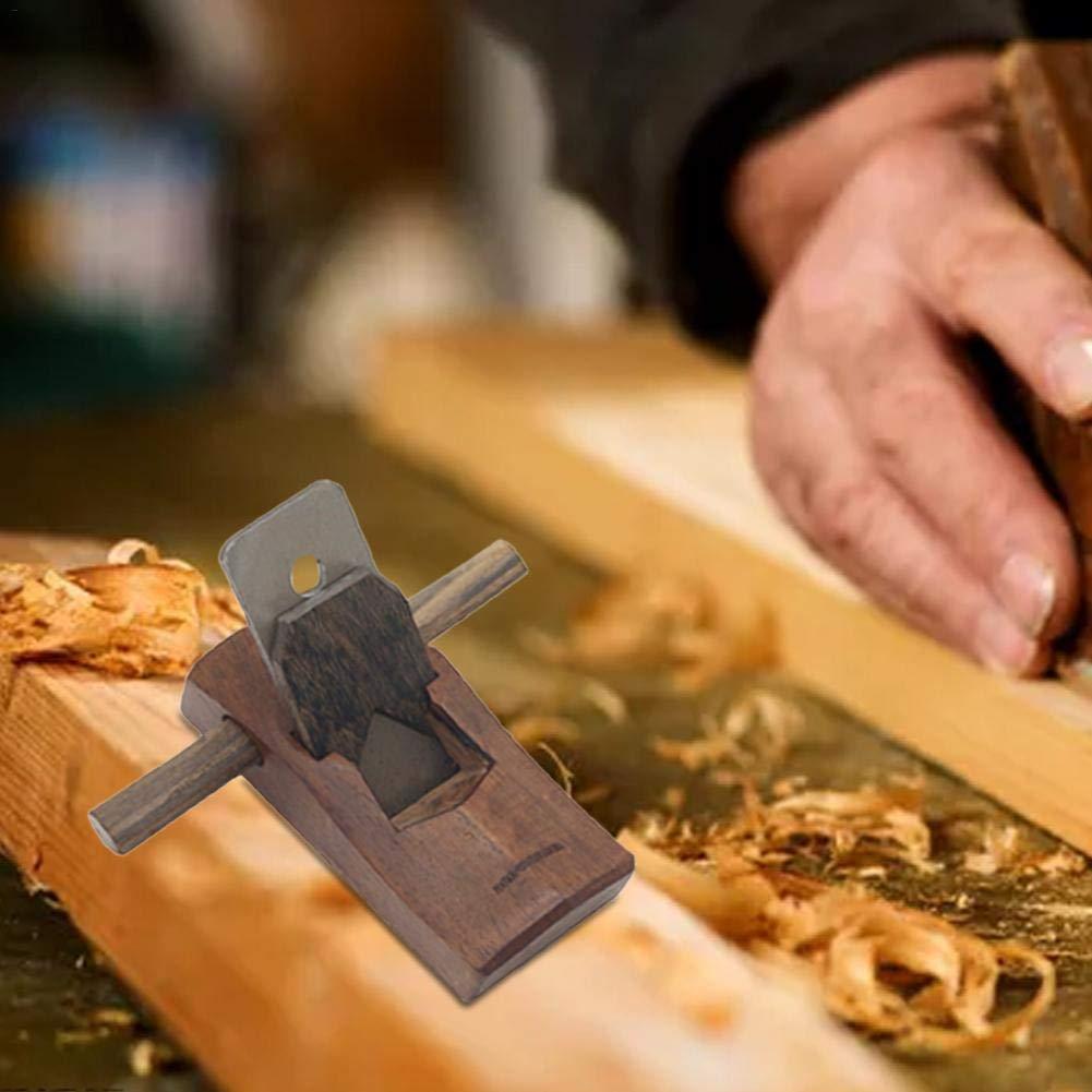 luckything 100mm Mini Holzhobel Blockhobel Einhandhobel,Holzbearbeitung Einstellbar Schneiden Kante Speiche Rasur Schabhobel,Schreiner Tischler Handhobel Hobel Holz