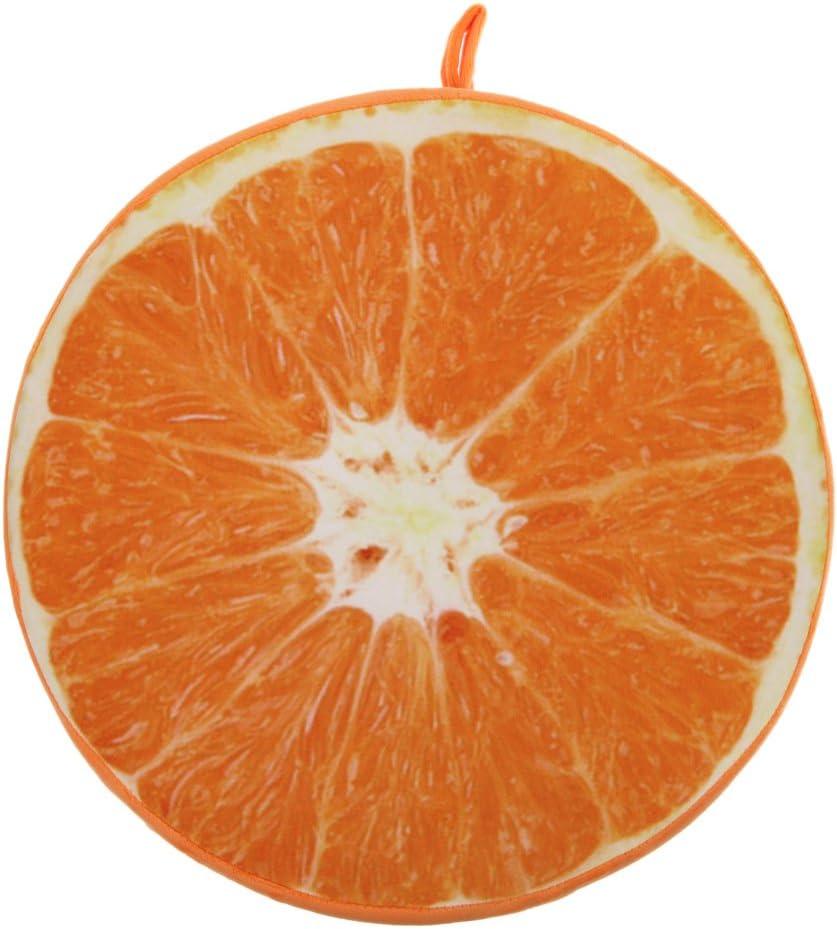 33cm, Lime Demiawaking Frutta di Stampa 3D Cuscino della Sedia Divano Cuscino Schienale per Ufficio Giardino