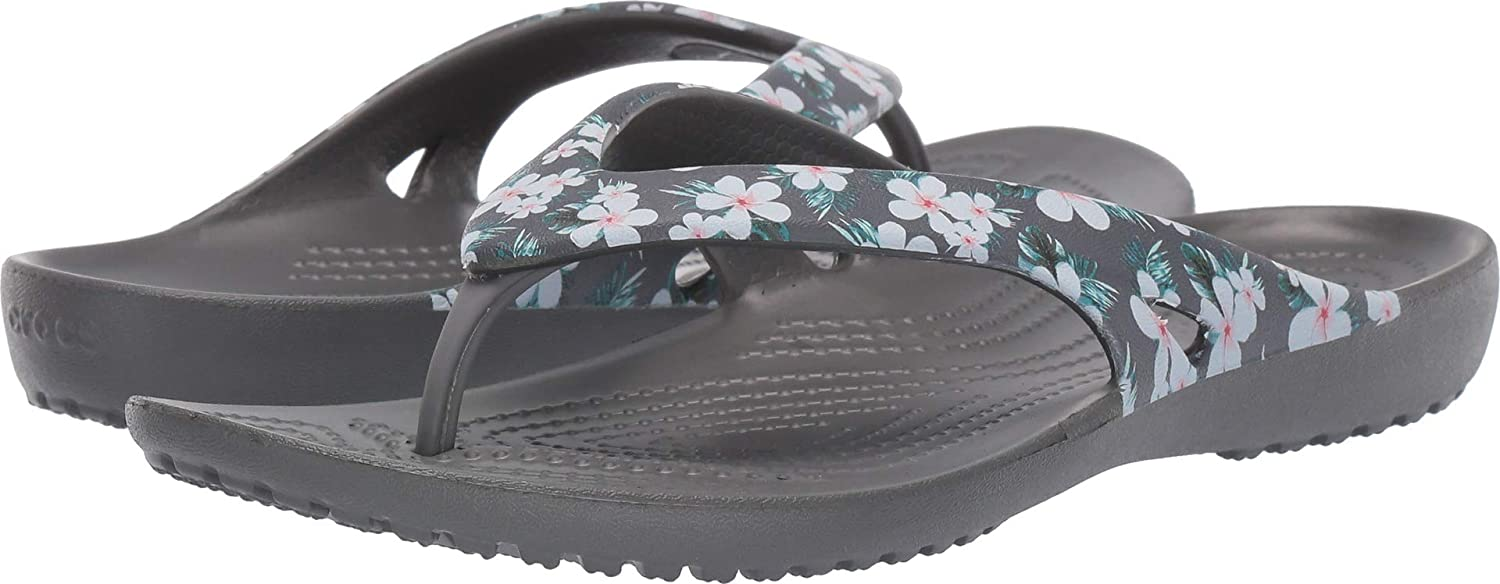 Crocs Women's Kadee II Graphic Flip-Flop | Women's Flip Flops | Water Shoes