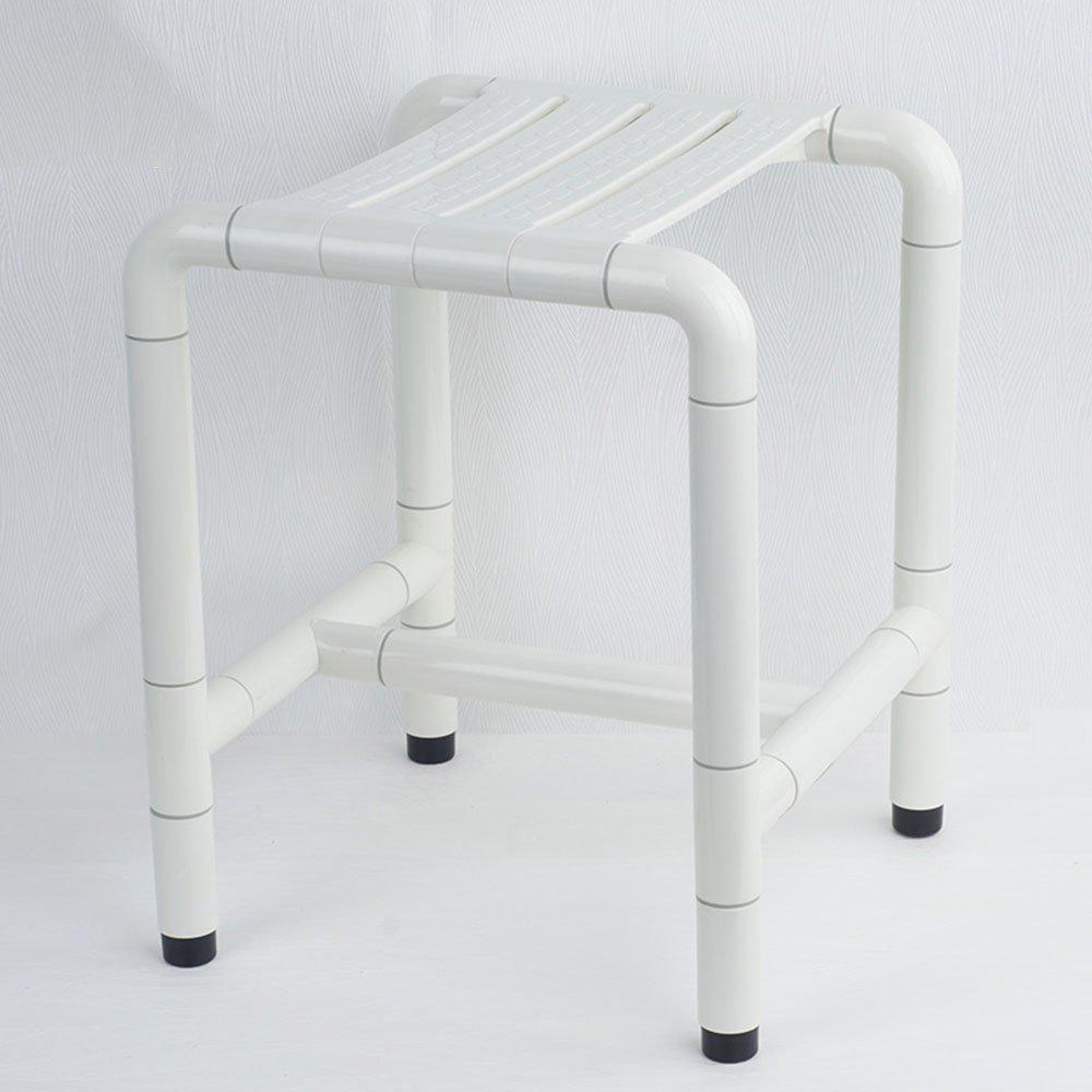 FEIFEI ノンスリップ安全バススツールバスチェアを変更する靴のスツールを老人に適用妊婦(色の複数選挙、サイズとより多くの選挙) ( 色 : 白 , サイズ さいず : 42.5センチメートル ) B07C6XM5LR 42.5センチメートル|白 白 42.5センチメートル