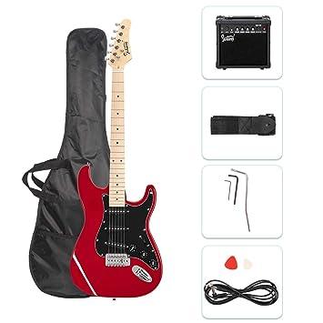 Amazon.com: ISIN - Guitarra eléctrica de tamaño completo ...