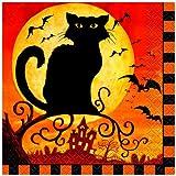 Spooky Hollow Halloween Beverage Napkins, 24ct