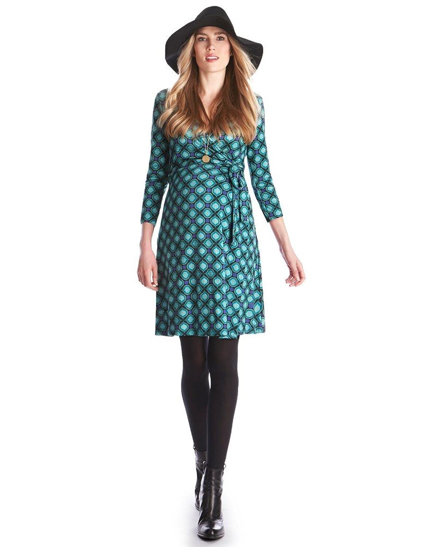 129bc6a3ea9 Seraphine Peyton Retro Print Maternity Nursing Dress at Amazon Women s  Clothing store