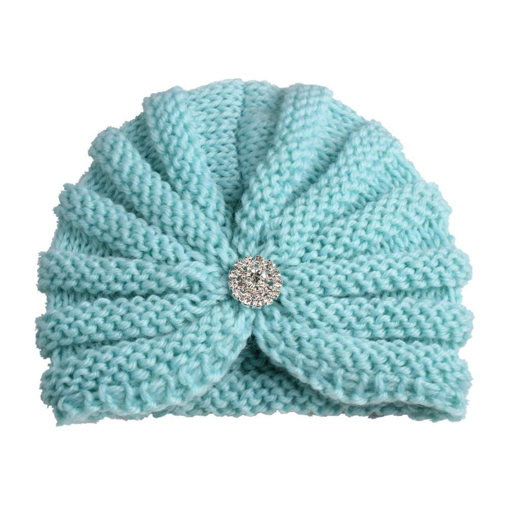 Clearance Little Kids Knit Hat,Colorful(TM) Fashion 1 PC Baby Toddler Girls Boys Infant Warm Winter Knit Beanie Hat Crochet Ski Cap for 0-3 Years