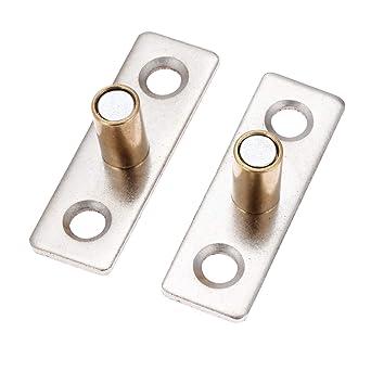 2 topes de metal de 8 mm, 10 mm, 12 mm de diámetro, para puerta corredera de madera, tono cobre: Amazon.es: Industria, empresas y ciencia