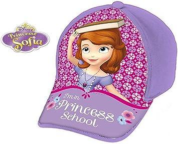 Disney Violet - Gorra para niña, diseño de Princesa Sofía: Amazon ...