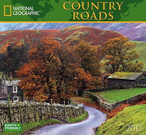 National Geographic Country Roads 2017 Wall Calendar