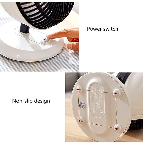 Heater Calentadores, hogar pequeña Estufa Solar, Mini electrodomésticos de bajo Consumo 200w: Amazon.es: Hogar