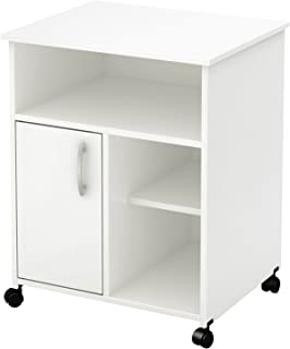 South Shore Axess Collection Printer Stand, Pure White