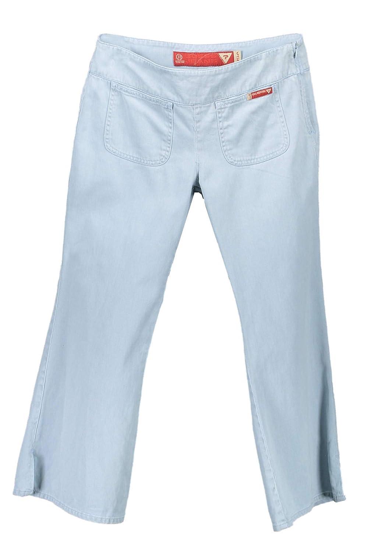 GUESS JEANS W1435-UB303 - Pantalones Capri para Mujer Azul ...