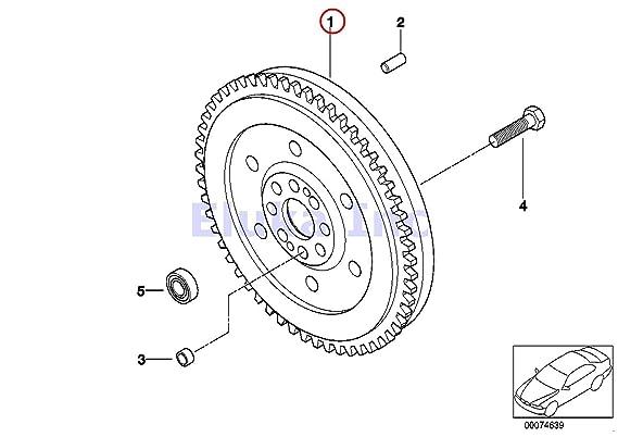 Amazon.com: BMW OEM Transmission Clutch Twin Dual Mass Flywheel 535i 535xi 535xi 135i 135i 335i 335xi 335i 335xi 335i 335xi 335i: Automotive