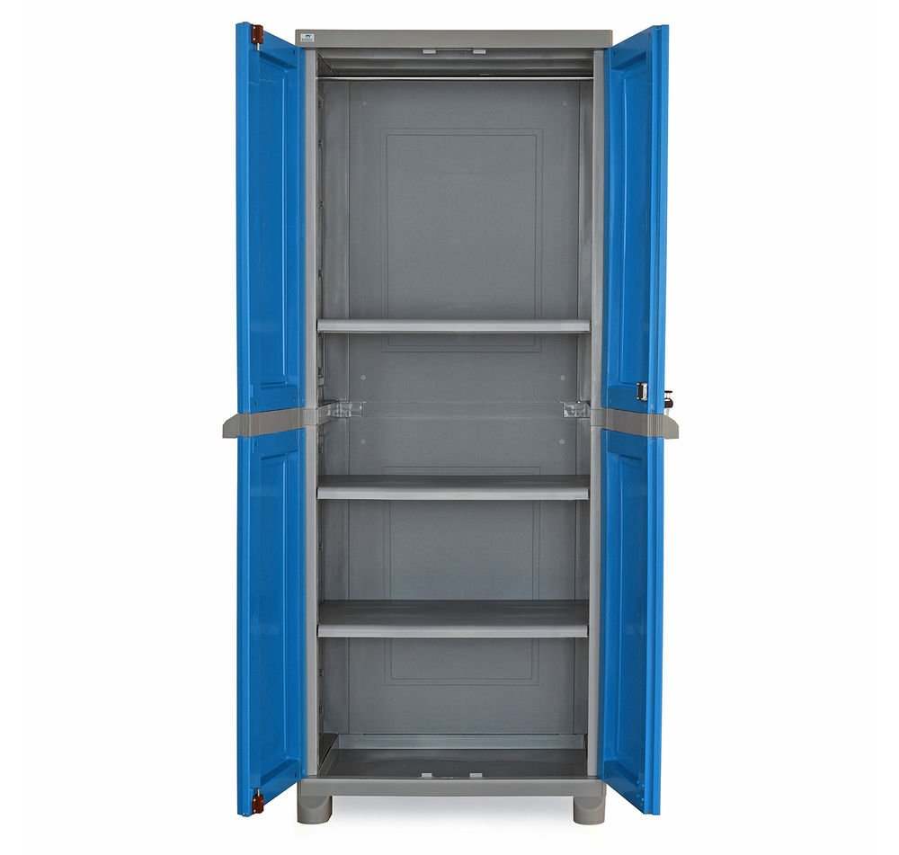 Nilkamal Freedom FB1 Big Storage Cabinet (Dark Blue And Grey): Amazon.in:  Home U0026 Kitchen