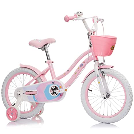Axdwfd Infantiles Bicicletas Bicicletas Infantiles con Cesta de ...