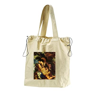 Prometheus Bound #2 (Rubens) Canvas Drawstring Beach Tote Bag