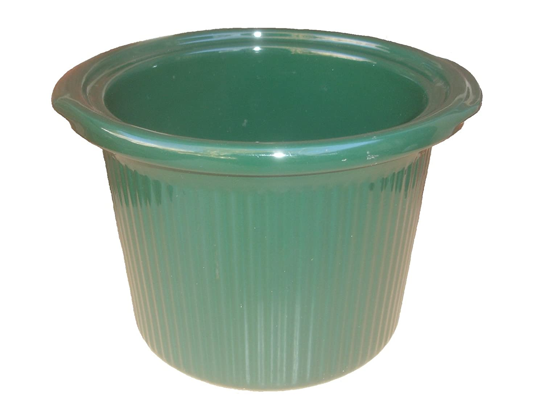 Rival Crock Pot Slow Cooker Models 3150 & 3150/2 Replacement Stoneware Insert 3 1/2 Quart Green