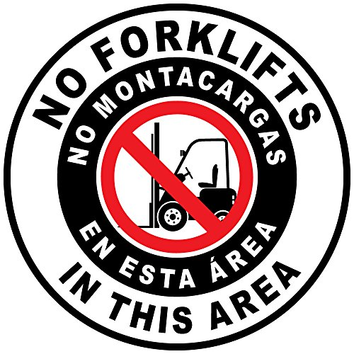 no-forklifts-no-montacargas-en-esta-area-black-red-anti-slip-floor-sticker-decal-24-in-longest-side