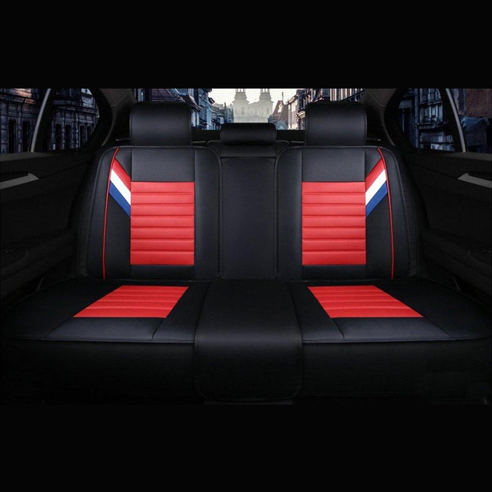 Funda para asiento de coche, fundas para asiento de coche, accesorios, interior, delantero + trasero: Amazon.es: Coche y moto