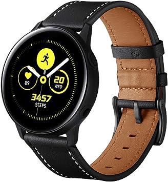 Myada para 20MM Correas Galaxy Watch 42mm Piel, Correa Samsung ...
