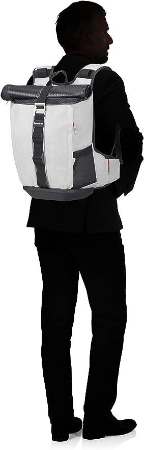 37 cm Samsonite Ziproll Noir 19 Litre 15.6 Pouces Petit Sac /à Dos pour Ordinateur Portable Black