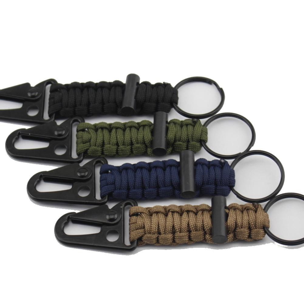 Lmzyan Flammen-Kai-Knopf-Schlüsselkette, draußen kampierender Überlebens-InsGrößetionssatz 2pcs B077GN95SL Einfachseile Einfachseile Einfachseile Verkauf Online-Shop 70c8ea