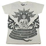 WORK Buddha Buddhism amulet T-