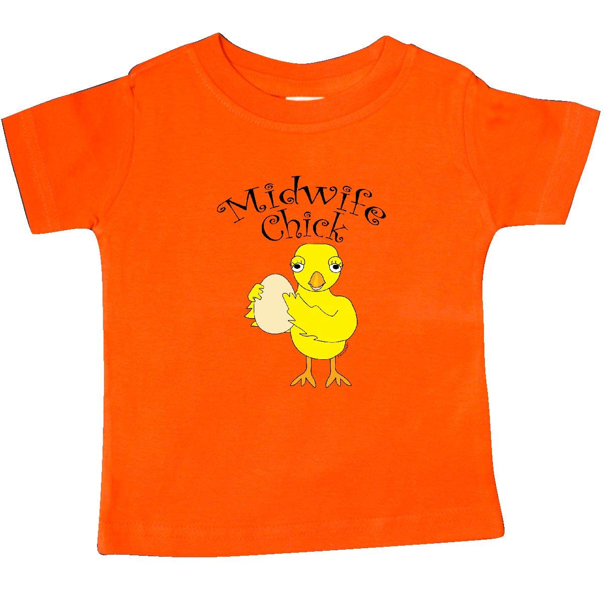 inktastic Midwife Chick Text Baby T-Shirt