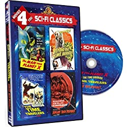Movies 4 You - Sci Fi Classics (The Man from Planet X/Beyond the Time Barrier/The Time Travelers/The Angry Red Planet)