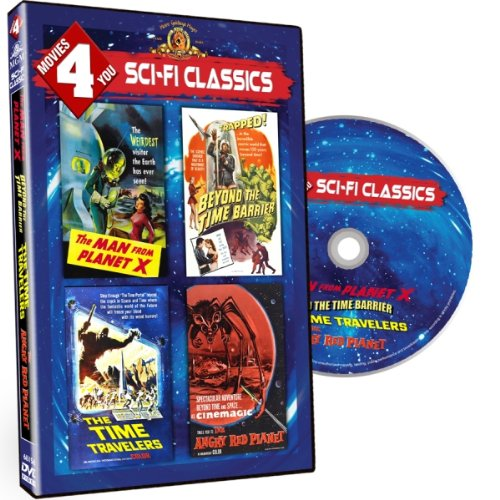 (Movies 4 You - Sci Fi Classics (The Man from Planet X / Beyond the Time Barrier / The Time Travelers / The Angry Red Planet))