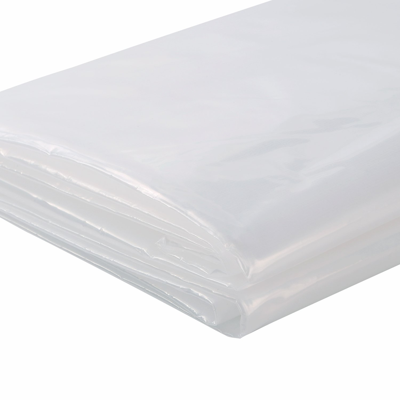 TopSoon Bolsa de Colchón para Almacenamiento Plástico Transparente 198 x 244 x 25.4 cm: Amazon.es: Hogar