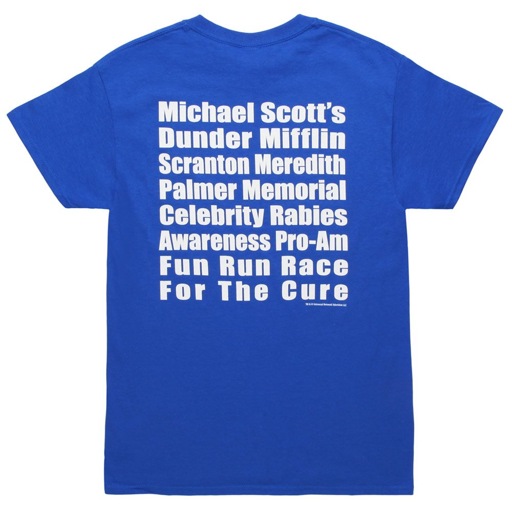Amazon The Office Michael Scotts Fun Run Race T Shirt Tee