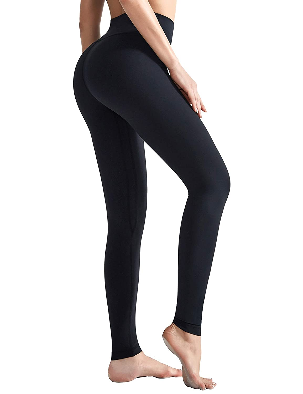 Ultra Soft Compression Workout Running Leggings with Inner Pocket AladdinShare Womens High Waist Yoga Pants