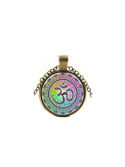 Joya de la yoga Mandala de símbolo de OM Aum Zen Cuadro ...