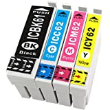 officeネット ICBK61+IC62(C/M/Y) 4色組 互換インク エプソン用
