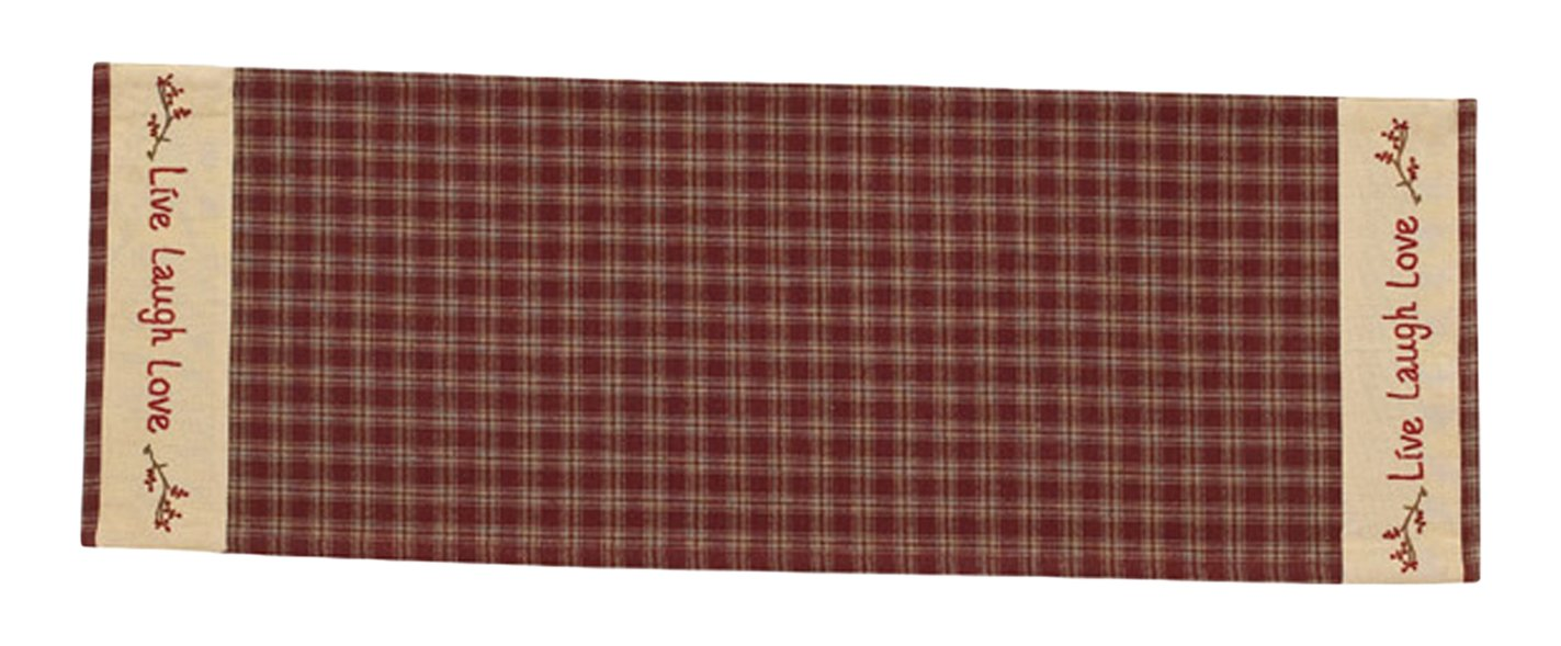 Park Designs Sturbridge Star Table Runner, 13 x 36 13 x 36 314-12R