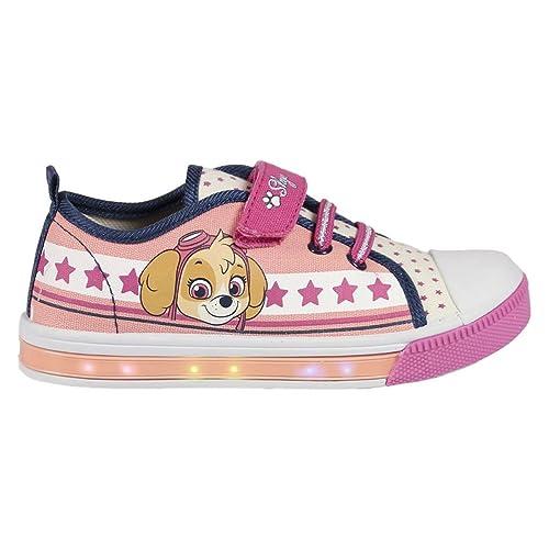Sneakers Estate rosa con chiusura velcro per bambina Paw patrol kTLX80Zx