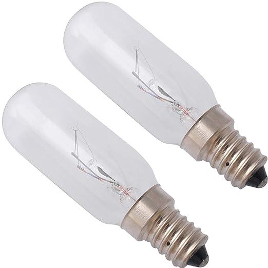 wb25 x 10030 Bombilla 40 W 125 V Microondas Luz de horno de ...