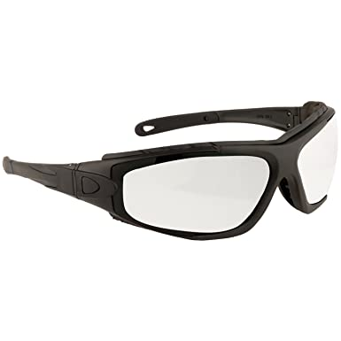 8fccd22191 Portwest PW11 Levo 2 in 1 Safety Glasses   Goggles - Clear  Amazon.co.uk   Clothing