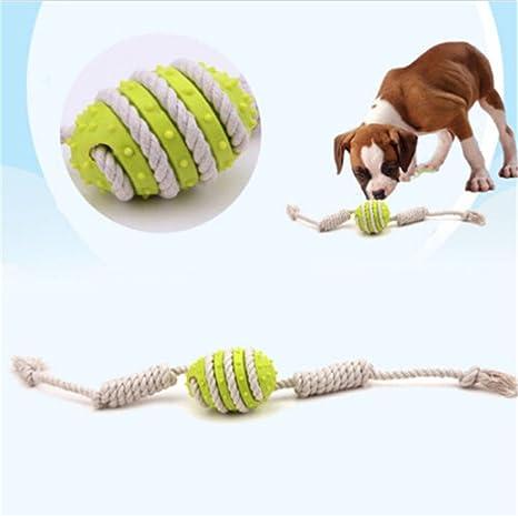 lukong pelota de juguete cuerda dental para perros – tratar ...
