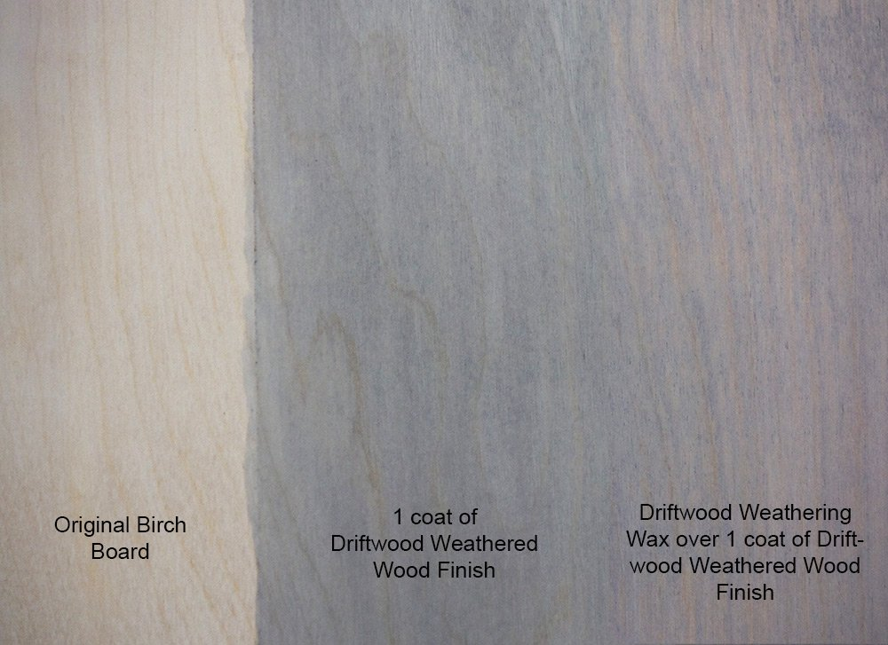 Amazon DRIFTWOOD WEATHERING WAX For A Subtle Gray Color And Hard Satin Wax Finish On Your Driftwood Finished Furniture