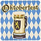 Kitchen & Housewares : Oktoberfest Coasters (asstd designs)    (8/Pkg)