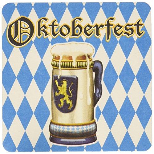 Oktoberfest Coasters (asstd designs)    (8/Pkg)