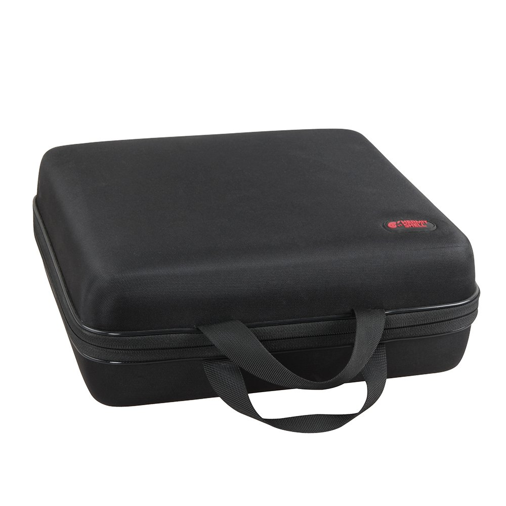 Hard Travel Case for Optoma HD142 X 1080p 3000 Lumens 3D DLP Home Theater Projector by Hermitshell