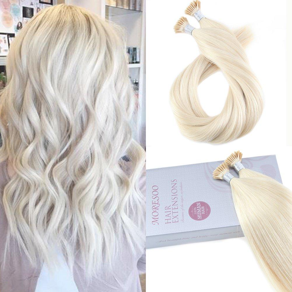 Amazon Moresoo 24 Inch Keratin Tipped Human Hair Extensions